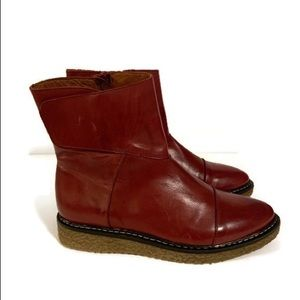 Eric Michael Shoes - Eric Michael Helen Leather Mid-boot